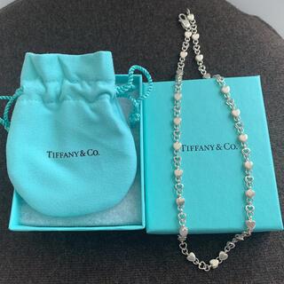 Tiffany & Co. - Tiffany ティファニー ネックレス チェーンオブハート