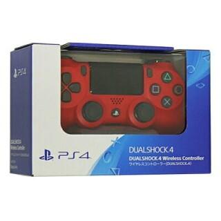 プレイステーション4(PlayStation4)のワイヤレスコントローラー(DUALSHOCK(R)4) マグマレッド(その他)