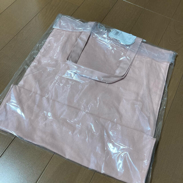 gelato pique(ジェラートピケ)のジェラートピケ  ピンク 新品未使用 レディースのバッグ(トートバッグ)の商品写真