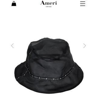 アメリヴィンテージ(Ameri VINTAGE)のameri アメリ シースルー リバーシブル バケットハット(ハット)