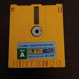 ニンテンドウ(任天堂)のファミリーコンピューターディスク パチンコGP A面、B面(家庭用ゲームソフト)