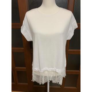 チャオパニックティピー(CIAOPANIC TYPY)のCIAOPANIC TYPY 白シャツ(シャツ/ブラウス(半袖/袖なし))