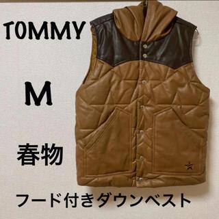 トミー(TOMMY)のTOMMY   レザーダウンベスト 春物(ダウンベスト)