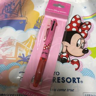 Disney - 難あり! ミニー 3色ボールペン 0.7mm ディズニー ジェットストリーム