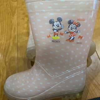 ディズニー(Disney)のミッキー ミニー 長靴 16センチ(長靴/レインシューズ)