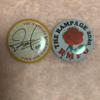 ザランページ(THE RAMPAGE)の吉野北人    ミニ缶、ロゴ(ミュージシャン)