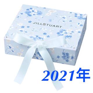 ジルスチュアート(JILLSTUART)のジルスチュアート 2021年 サムシングピュアブルー ギフトボックス  新品(ラッピング/包装)