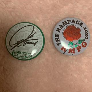 ザランページ(THE RAMPAGE)の川村壱馬    ミニ缶、ロゴ(ミュージシャン)