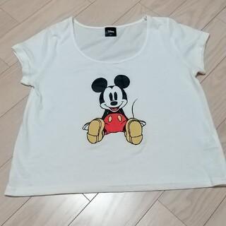 ディズニー(Disney)のDisney ミッキー Tシャツ(Tシャツ(半袖/袖なし))