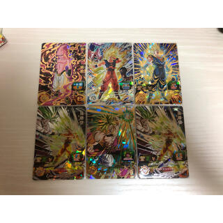 ドラゴンボール(ドラゴンボール)のドラゴンボールヒーローズ  原作再現 6枚セット(シングルカード)