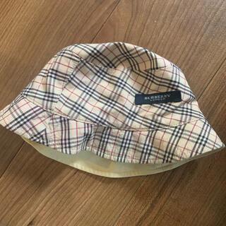 バーバリー(BURBERRY)のバーバリーBurberryキッズベビーbabyキッズリバーシブルハット(帽子)