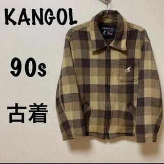 カンゴール(KANGOL)のKANGOL   ジャケット 90s   古着(テーラードジャケット)