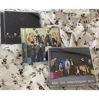 トリプルエー(AAA)のアルバム CD、DVD まとめ売り 動作確認済み(ミュージック)