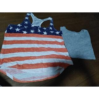 ギャップ(GAP)のギャップ タンクトップ&Tシャツ👕セット(Tシャツ(半袖/袖なし))