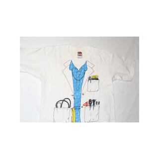 サンタモニカ(Santa Monica)の▪️90's【FRUIT OF THE LOOM】TRICK PICTURE(Tシャツ(半袖/袖なし))