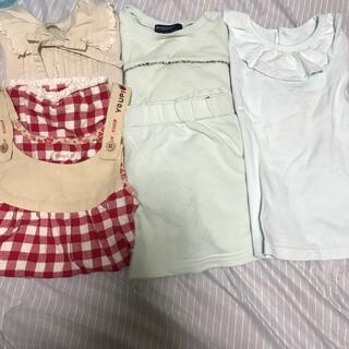 ニシマツヤ(西松屋)の女の子 子供服 まとめ売り(その他)