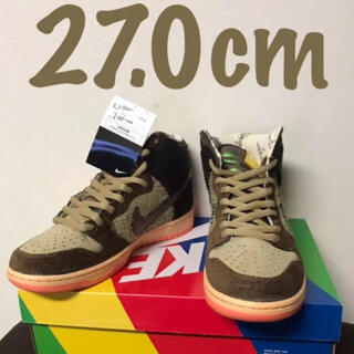 "ナイキ(NIKE)のCONCEPTS × NIKE SB DUNK HIGH ""DUCK"" 27.0(スニーカー)"