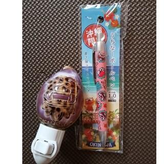 沖縄ライト 貝ライト 沖縄グッズ シーサーボールペン(その他)
