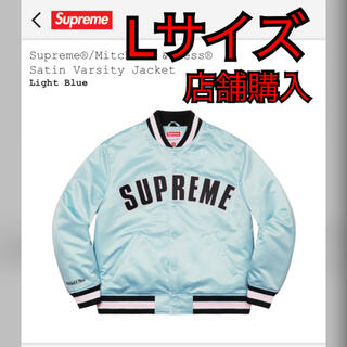 Supreme - Supreme Satin Varsity Jacket Lサイズ