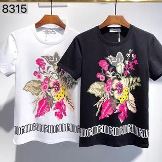 ディースクエアード(DSQUARED2)の新品 DSQUARED2 Tシャツ 半袖 男女兼用  43(Tシャツ(半袖/袖なし))