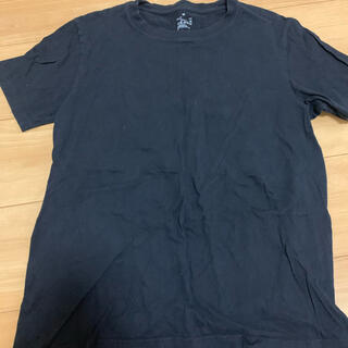 Tシャツ 半袖 メンズ 黒  綿100%