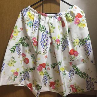 チェスティ(Chesty)のチェスティ♡藤柄スカート(ひざ丈スカート)