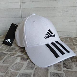 アディダス(adidas)のアディダス ホワイト 57-60cm ゴルフ キャップ 即日発送(キャップ)