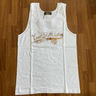 アッシュペーフランス(H.P.FRANCE)のLe Mont saint Michel ルモンサンミッシェル ホワイト L (Tシャツ/カットソー(半袖/袖なし))