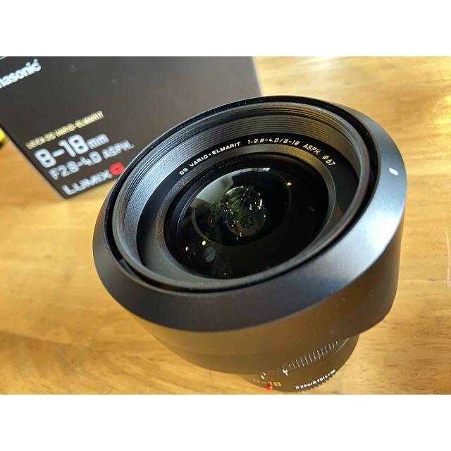 Panasonic(パナソニック)のLEICA ライカ ズーム レンズ 8-18mm/F2.8-4.0 スマホ/家電/カメラのカメラ(ミラーレス一眼)の商品写真