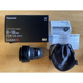 Panasonic - LEICA ライカ ズーム レンズ 8-18mm/F2.8-4.0