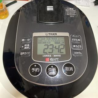 タイガー魔法瓶 JKN-G100(K) 炊飯器 中古 TIGER タイガー(炊飯器)