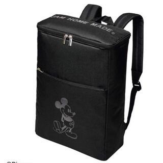 ジャムホームメイドアンドレディメイド(JAM HOME MADE & ready made)の未開封smart5月ミッキーマウス JAMHOMEMADEボックス型バックパック(バッグパック/リュック)