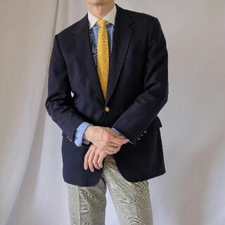 ブルックスブラザース(Brooks Brothers)のUSA製 BROOKS BROTHERS 紺ブレザーL(テーラードジャケット)
