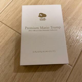 ニンテンドウ(任天堂)のクラブニンテンドー プレミアム マリオトランプ 2012 非売品(キャラクターグッズ)