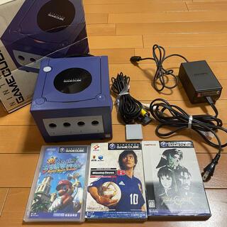 ニンテンドウ(任天堂)のニンテンドーゲームキューブ 通電確認済み カセットセット(家庭用ゲームソフト)