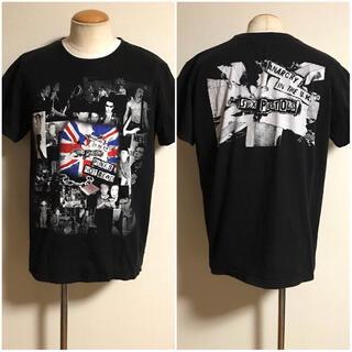 サンタモニカ(Santa Monica)の美品 00s ビンテージ セックスピストルズ バンド Tシャツ L 黒 xpv (Tシャツ/カットソー(半袖/袖なし))