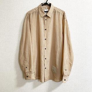 Jil Sander - OAMC 20ss ストライプシャツ