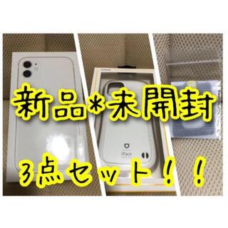 アップル(Apple)のiPhone11 本体 SIMフリー 64GB ホワイト(スマートフォン本体)