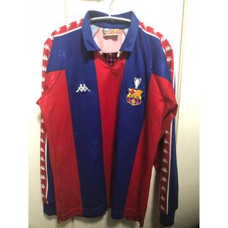 カッパ(Kappa)のバルセロナ 92/93 カップ戦用(H) KAPPA 長袖 トヨタカップ92(ウェア)