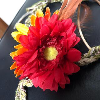 カシラ(CA4LA)のお花 ヘアバンド(ヘアバンド)