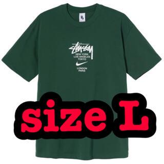 ステューシー(STUSSY)の緑 stussy nike ステューシー ナイキ tee Tシャツ world(Tシャツ/カットソー(半袖/袖なし))