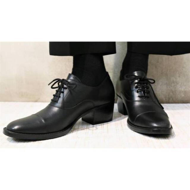 LAD MUSICIAN(ラッドミュージシャン)のHEEL SHOES 新品 メンズの靴/シューズ(ドレス/ビジネス)の商品写真