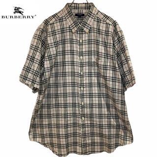 バーバリー(BURBERRY)の★ほぼ新品★ Burberry バーバリー ノバチェック 半袖 シャツ(シャツ)