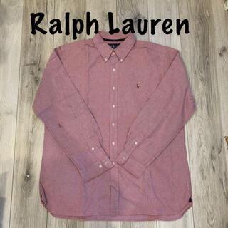 デニムアンドサプライラルフローレン(Denim & Supply Ralph Lauren)のRalph Lauren ピンクシャツ(Tシャツ/カットソー(半袖/袖なし))