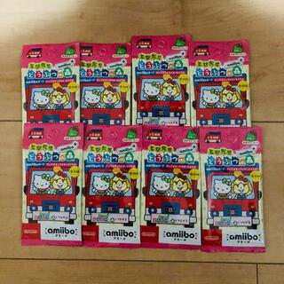 ニンテンドウ(任天堂)の8パックセット★ amiiboカード サンリオ とびだせどうぶつの森 復刻版 (カード)