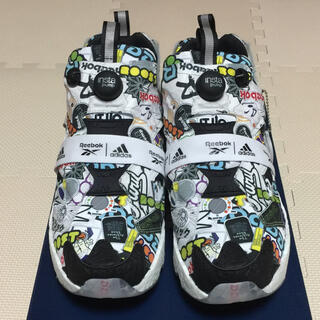 リーボック(Reebok)のReebok INSTAPUMP FURY BOOST STICKER CITY(スニーカー)
