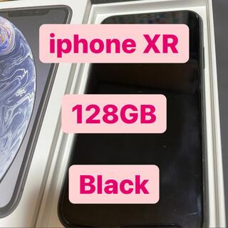 アップル(Apple)のiPhone XR 128GB Black(スマートフォン本体)