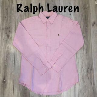 デニムアンドサプライラルフローレン(Denim & Supply Ralph Lauren)のラルフローレン シャツ ピンク 美品(Tシャツ/カットソー(半袖/袖なし))