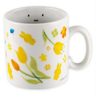 ミッフィー ウォーターカラー マグカップ フェイス お花(グラス/カップ)