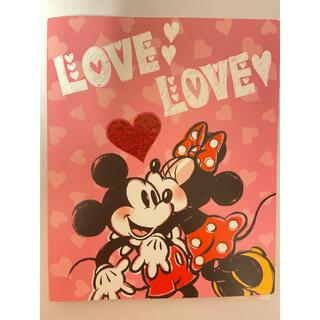 ディズニー(Disney)のDisney ディズニー ミッキー ミニー ポケットアルバム フォトアルバム(アルバム)